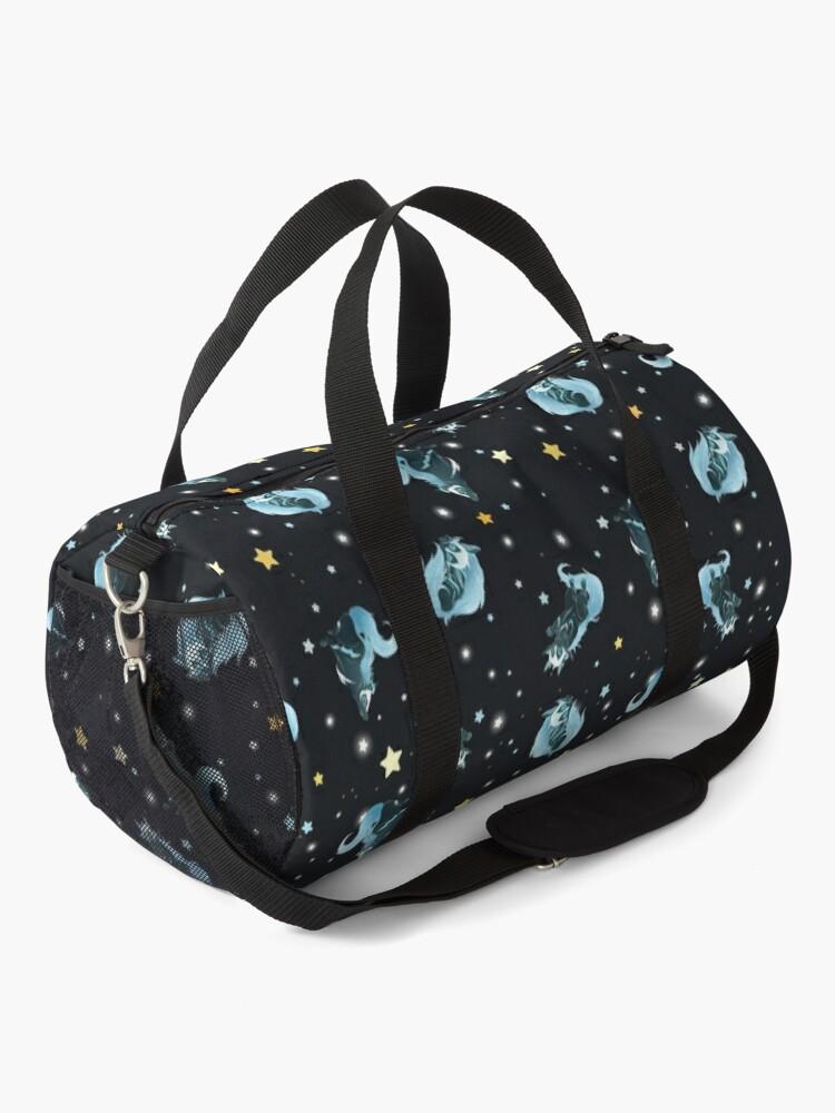 Alternate view of Cosmic Wolf Duffle Bag