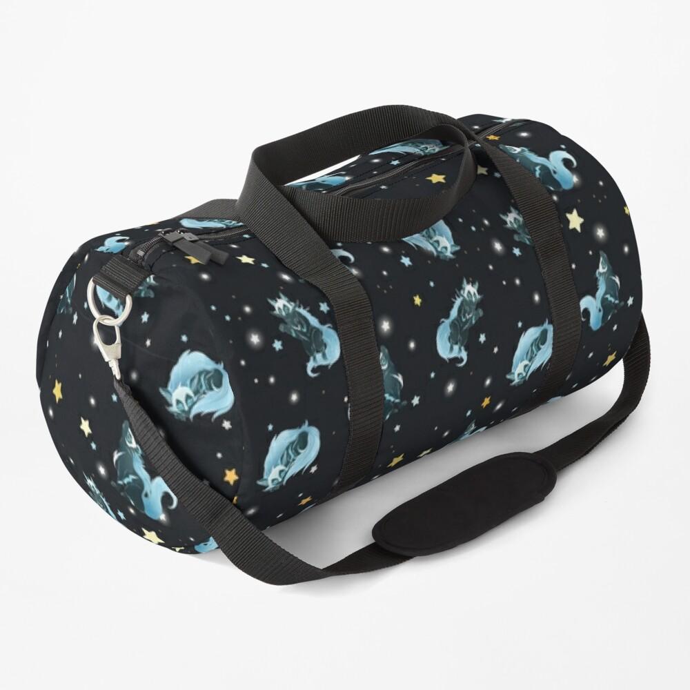 Cosmic Wolf Duffle Bag