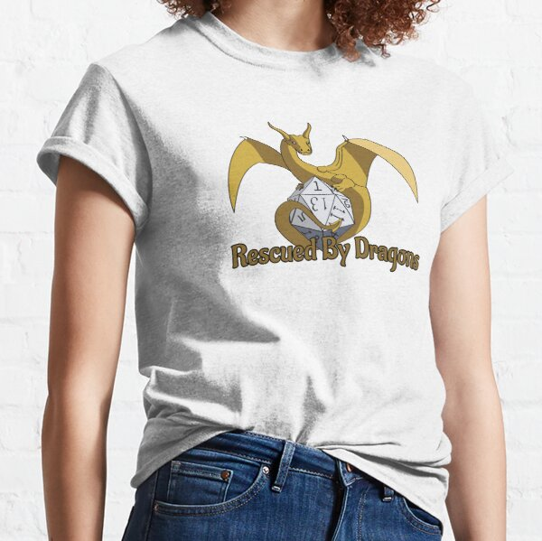 Rescued By Dragons Classic T-Shirt