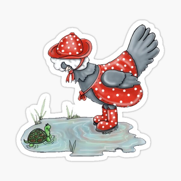 Polish Puddle Sticker