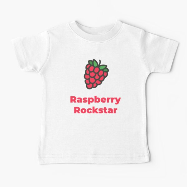 Raspberry Rockstar Baby T-Shirt