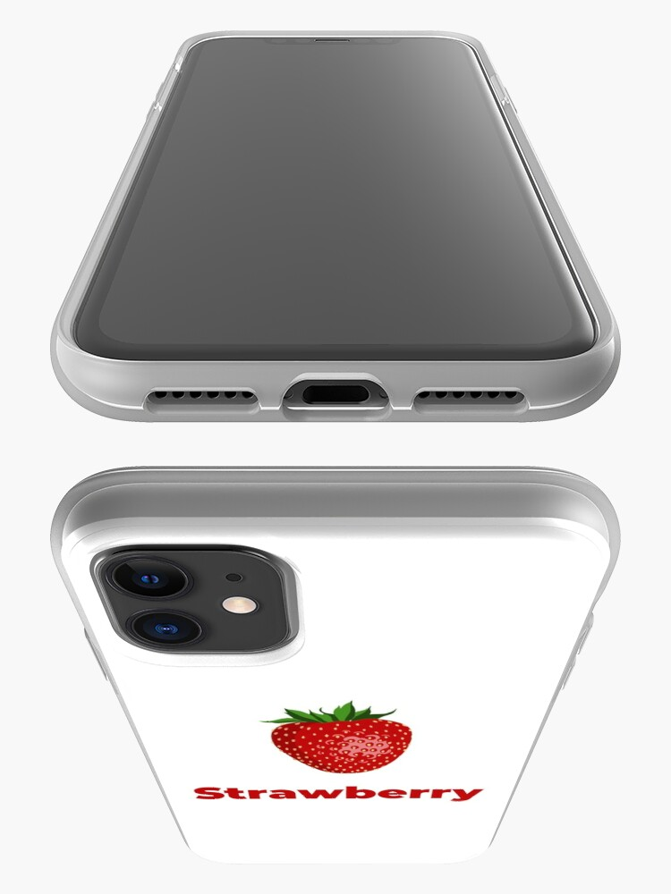 Alternate view of Strawberry Fruit with Name iPhone Case & Cover