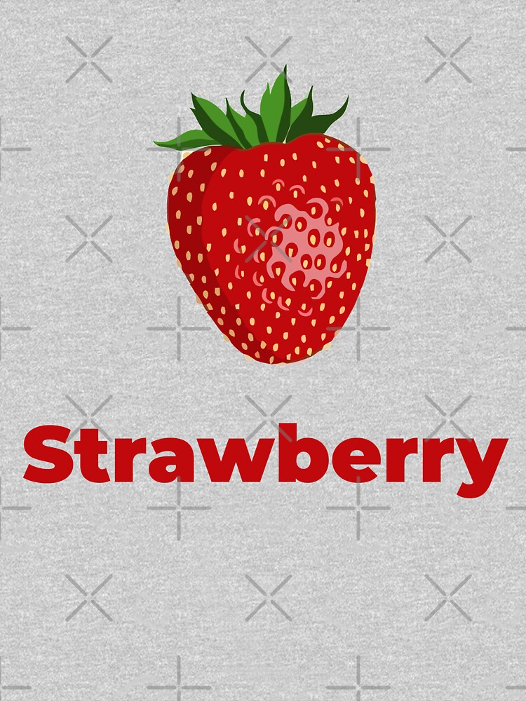 Strawberry Fruit with Name by nikkihstokes