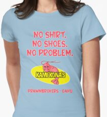 Kamekona's (no shirt...) Women's Fitted T-Shirt