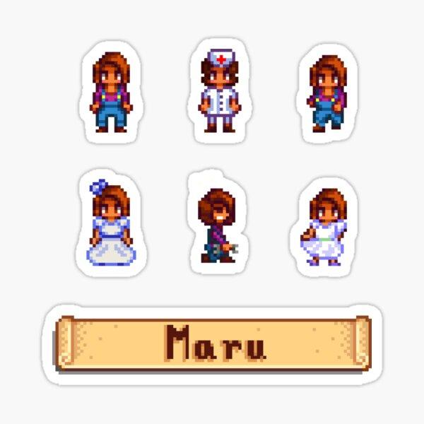 Stardew Valley Sprites - Maru Sticker