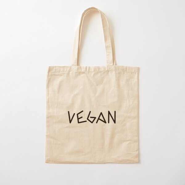 Vegan Cotton Tote Bag