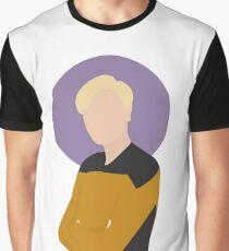 """Lt. Natasha """"Tasha"""" Yar Illustration  Graphic T-Shirt"""