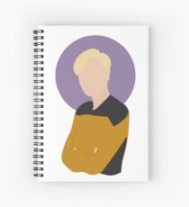 "Lt. Natasha ""Tasha"" Yar Illustration  Spiral Notebook"