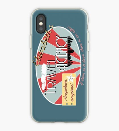 Elizabeth's travel agency iPhone Case