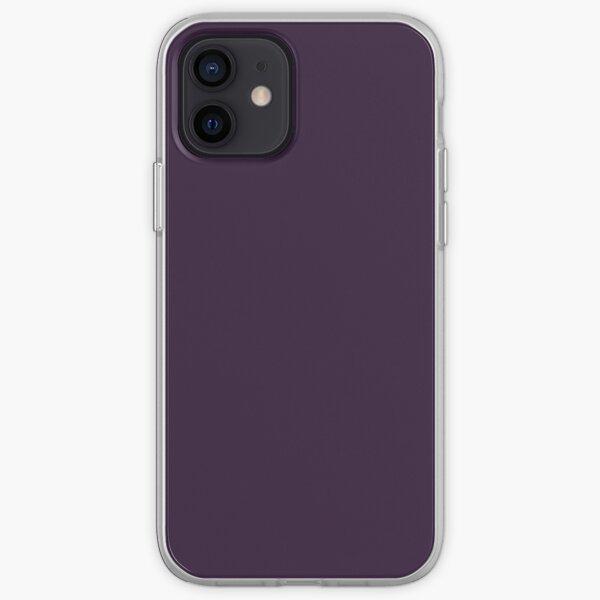 Dark Purple iPhone Soft Case