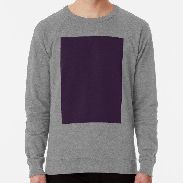 Dark Purple Lightweight Sweatshirt