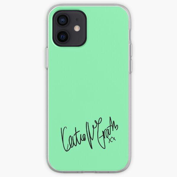 Katie McGrath signature  iPhone Soft Case