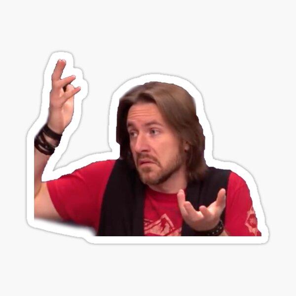 Matt Mercer - Critical Role Meme Face Sticker