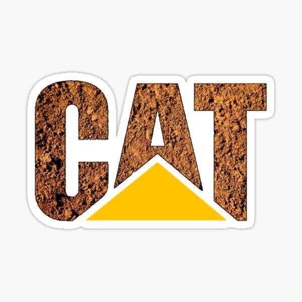 CAT in Dirt Sticker