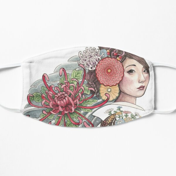 Chrysanthemum Flat Mask