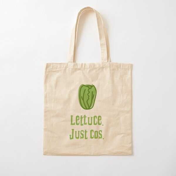 Lettuce. Just Cos. Cotton Tote Bag