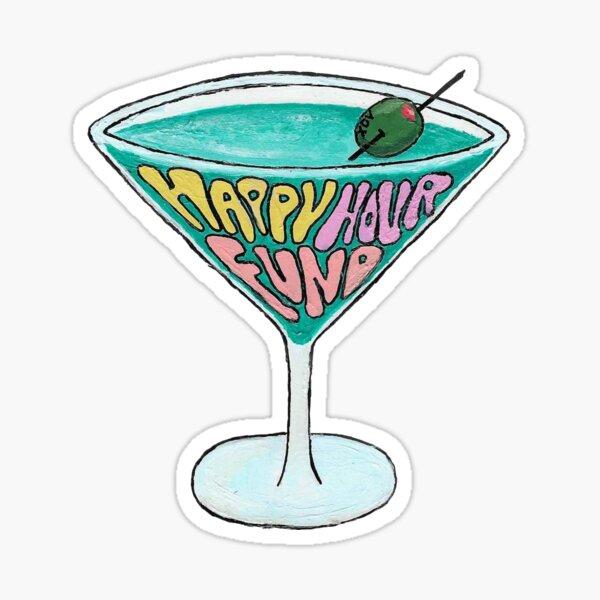 HHF Martini Sticker
