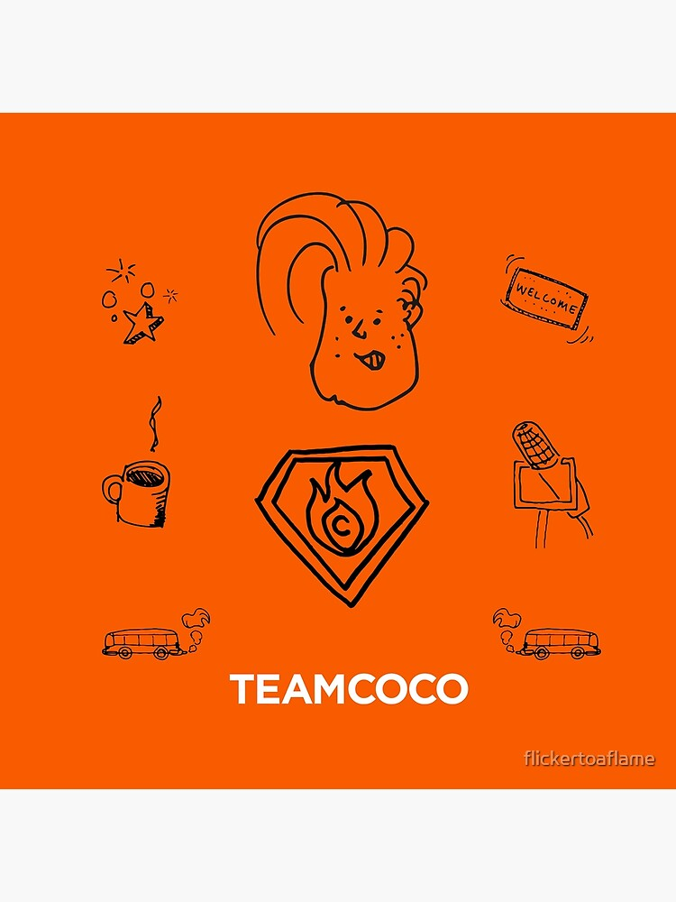 Team Coco - Doodle World by flickertoaflame