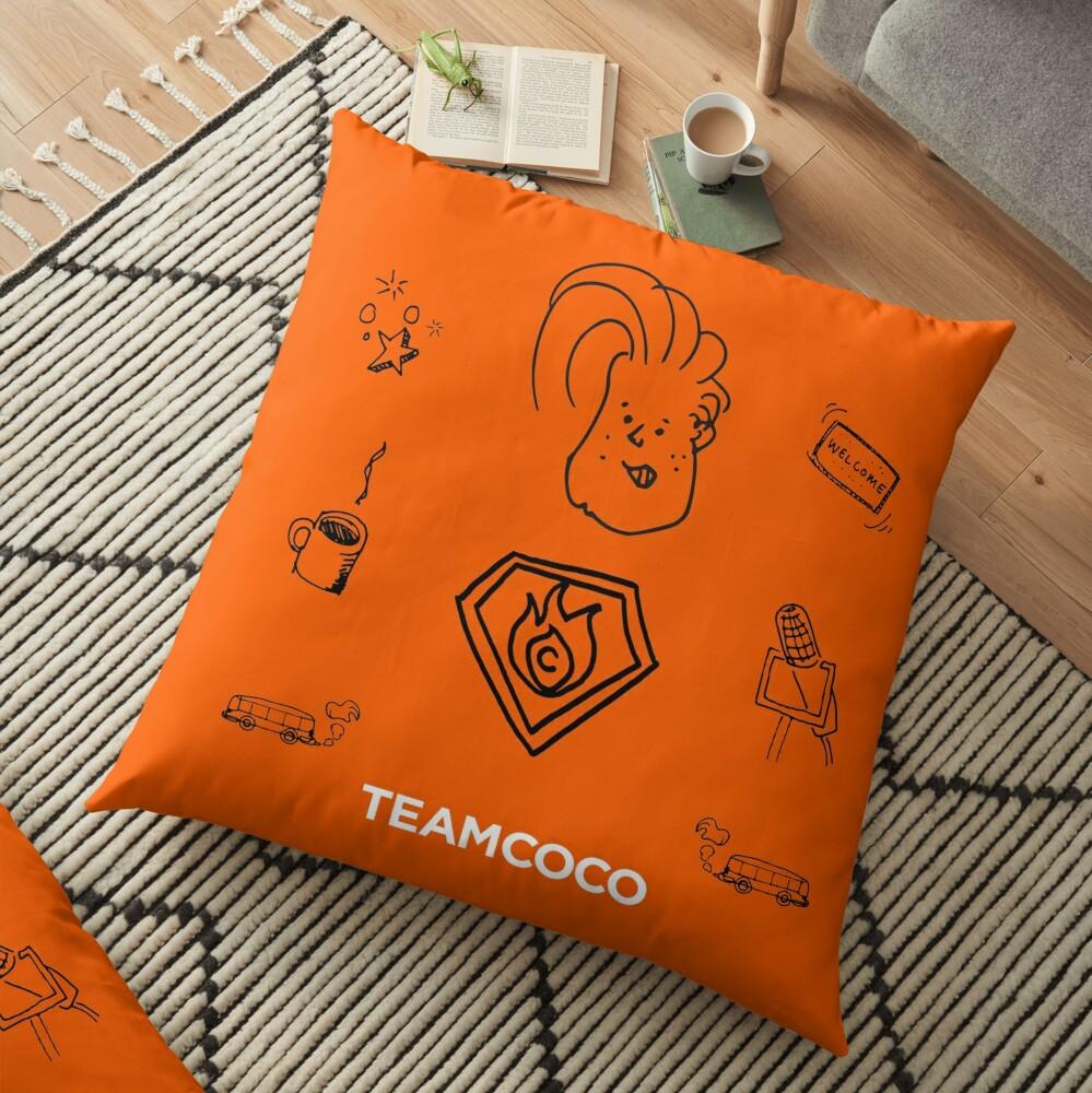 Team Coco - Doodle World Floor Pillow