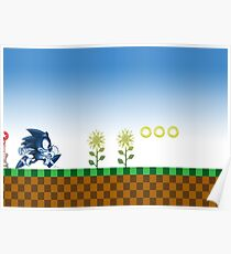 Sonic (Blue)  Poster