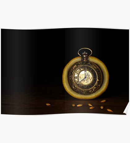 Time is a Lemon Poster
