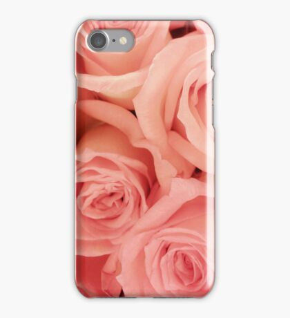 Pink roses - phone skin, iPad cover, and print iPhone Case/Skin