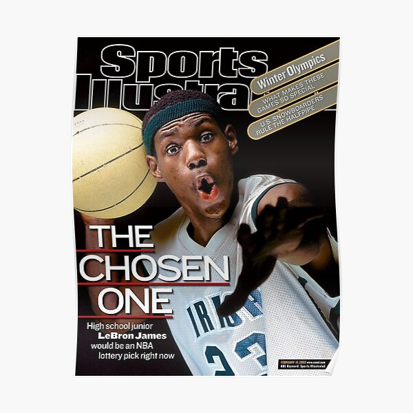 Sports Illustrated - LeBron James Póster
