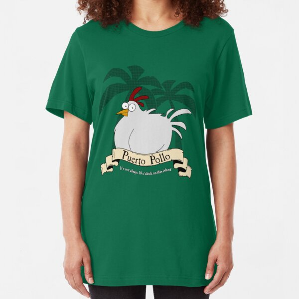 Puerto Pollo Slim Fit T-Shirt