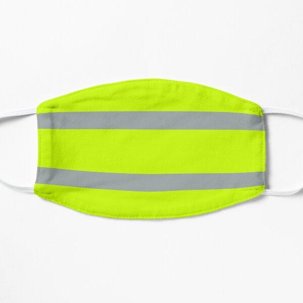 Work Hi-Vis Striped Flat Mask