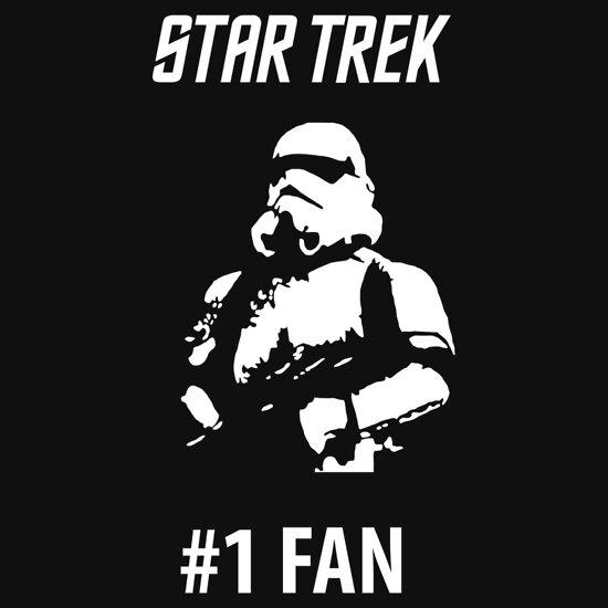 TShirtGifter presents: Star Trek #1 Fan   Unisex T-Shirt