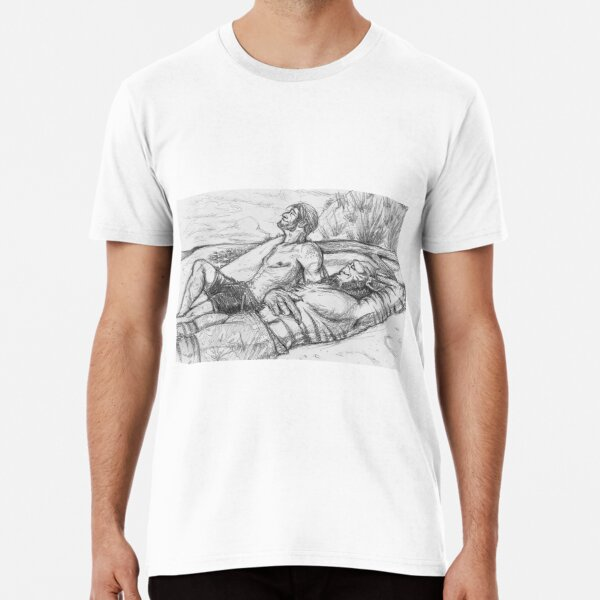 space husbands on the beach  Premium T-Shirt