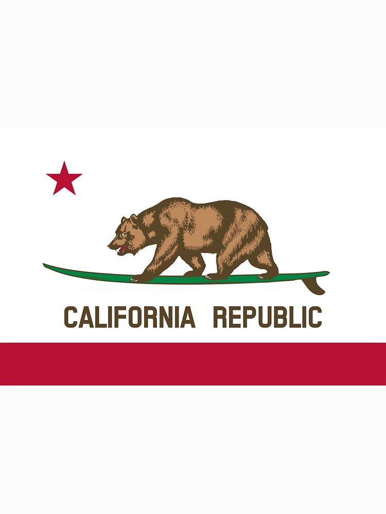 Surfing California Bear | Unisex T-Shirt