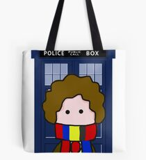 The 4th Doctor Tote Bag