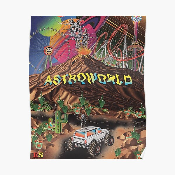 astroworld poster Poster