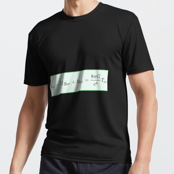 Einstein field equations EFE: General Theory of Relativity - Fundamental Interaction of Gravitation Active T-Shirt
