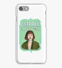 BIG LEBOWSKI-Maude Lebowski- Jeffrey. Love me. iPhone Case/Skin