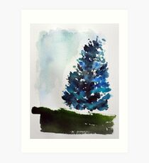 A Tree Grows In Mount Royal,  Montreal Art Print