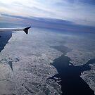 Flight Over Frozen Waters by ValSteve59