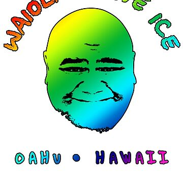 Waiola Shave Ice (Rainbow) by fozzilized
