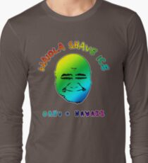 Waiola Shave Ice (Rainbow) Long Sleeve T-Shirt