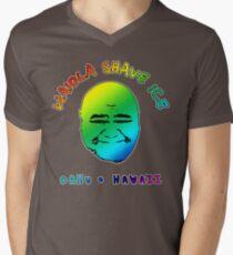 Waiola Shave Ice (Rainbow) Men's V-Neck T-Shirt