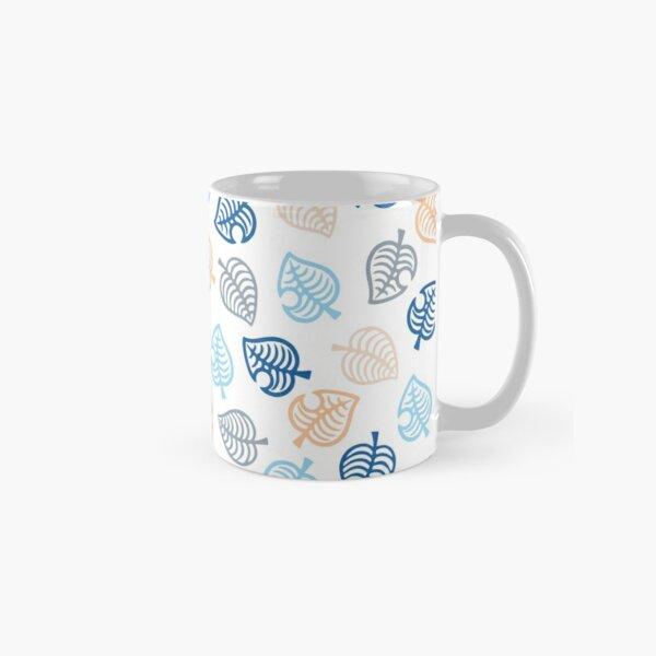 Animal Crossing Motif Blue Classic Mug