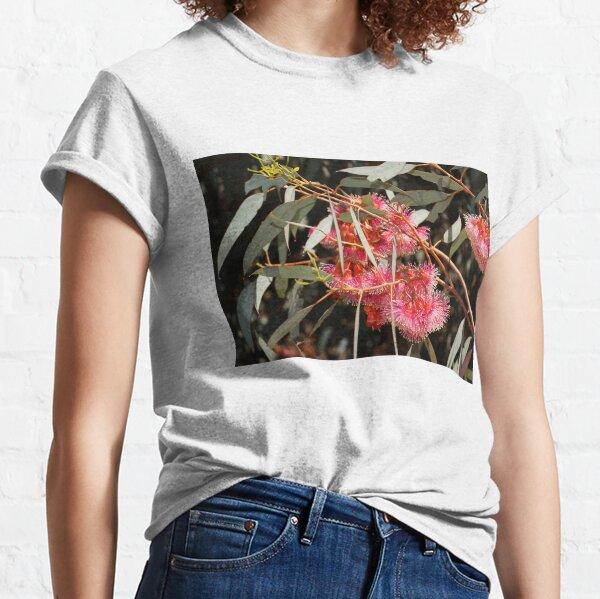 Pink Flowering Gum  by Avril Thomas, South Australian artist  Classic T-Shirt