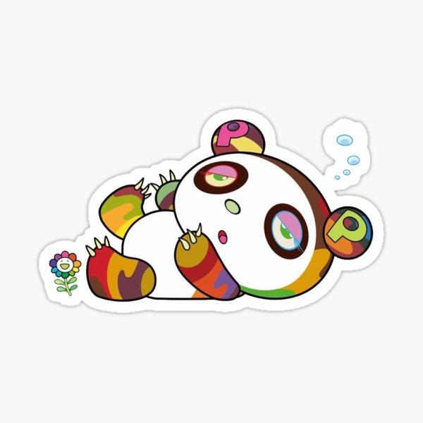 takashi murakami bear copy Sticker