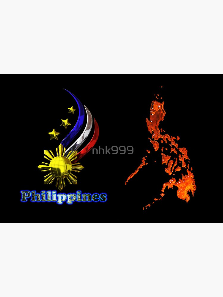 Philippine map logo by nhk999