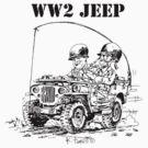 WW2 jeep by RFlores