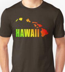Hawaiian Islands (Vintage Distressed Design) T-Shirt