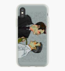 Cat got your tongue, Inspector? iPhone Case