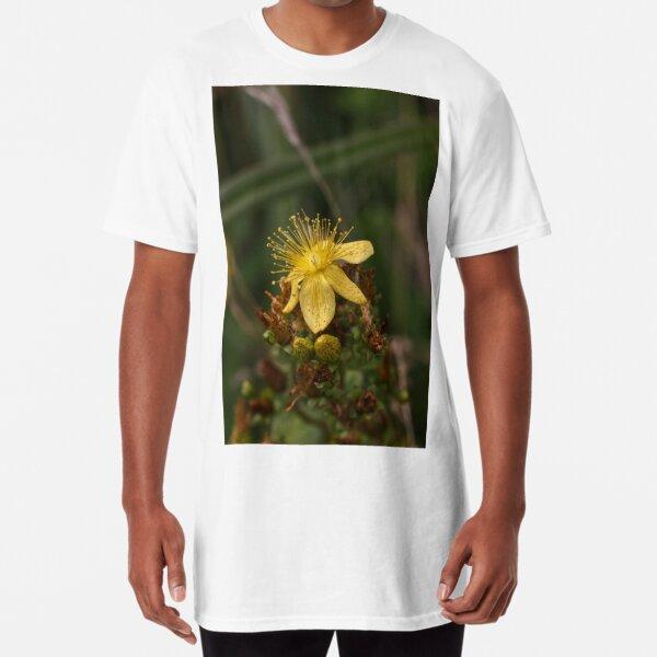 Yellow flower Long T-Shirt