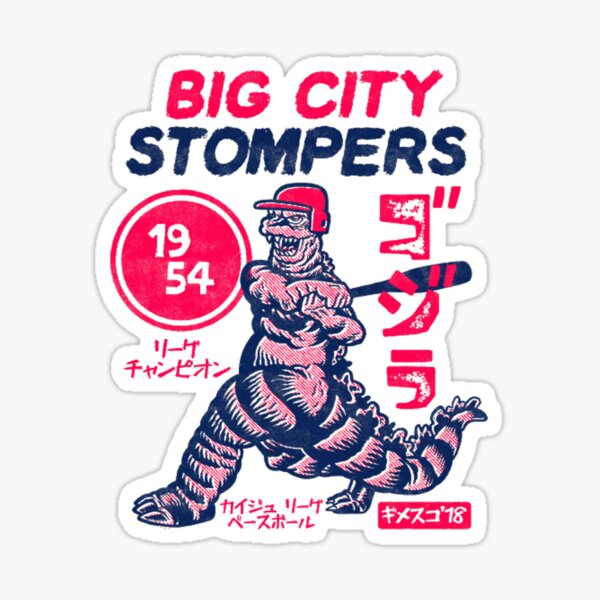 Big City Stompers Sticker